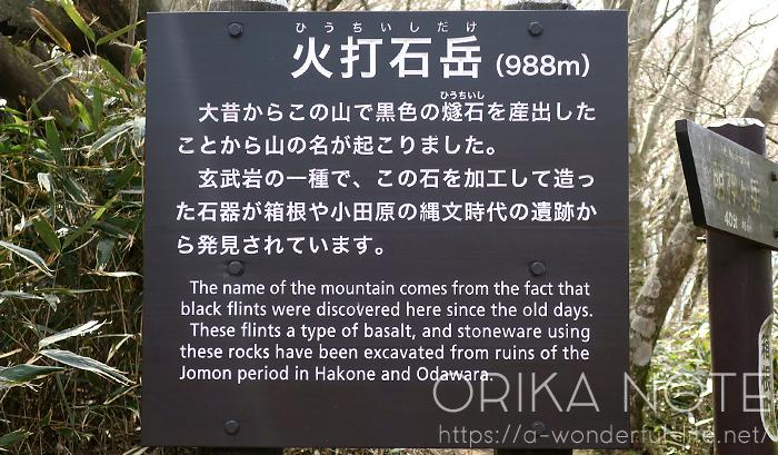 箱根登山 金時山→明神ヶ岳へ