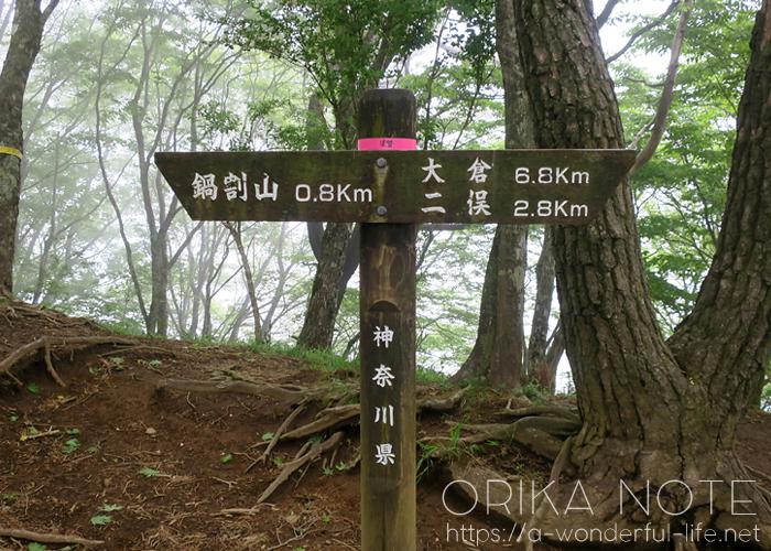 登山日記  丹沢/鍋割山